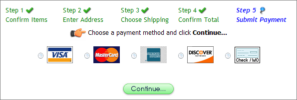 Squirrelcart  Payment Form Template