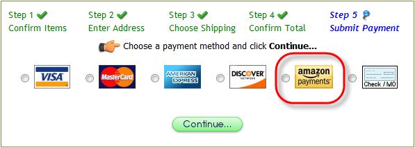 how to delete payment method on amazon